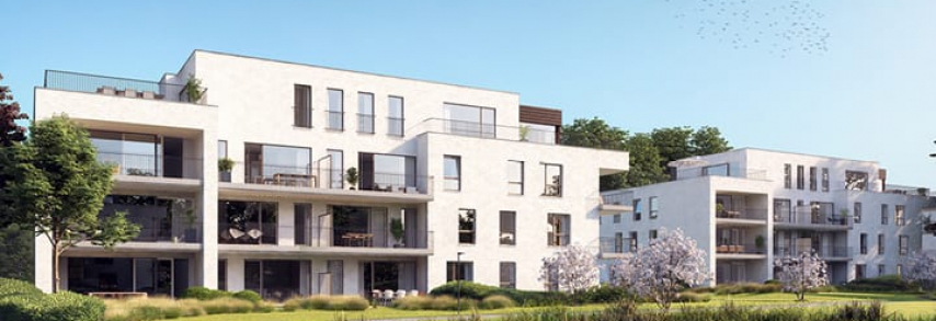 Park Hooghuys appartement Herenthout Architectuur Nele Alaers